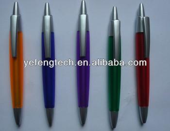 Colorful Click Plastic Ball Pen / Fat Click Plastic Ball Pen ...
