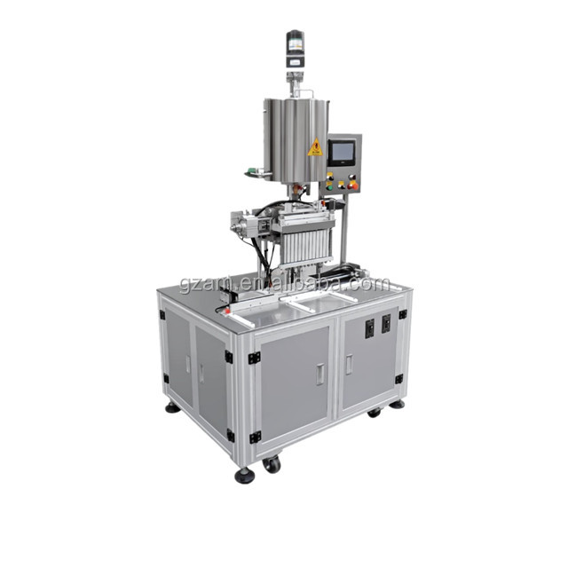 YH Automatic 12-Nozzle Lipstick Filling Machine