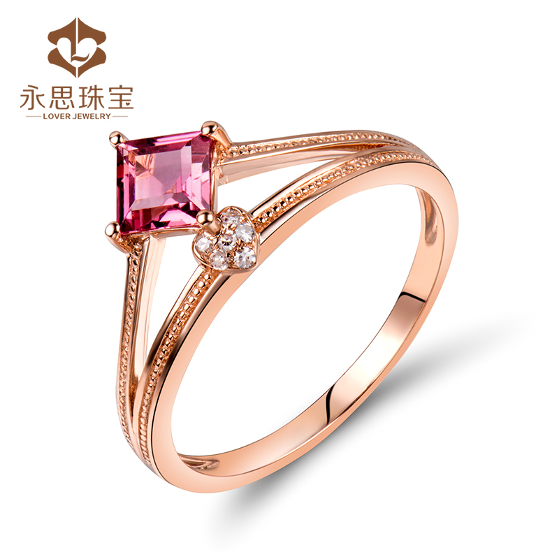 Solid gold finger ring rings design for women with price SR0392