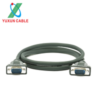YUXUN 15 Pin VGA To VGA TV Monitor Cable 1.5M 5M 10M 15M 100M
