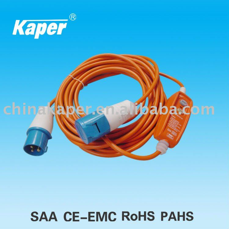 SAA Approved In-line RCD/Safety Device/ Industrial Plug