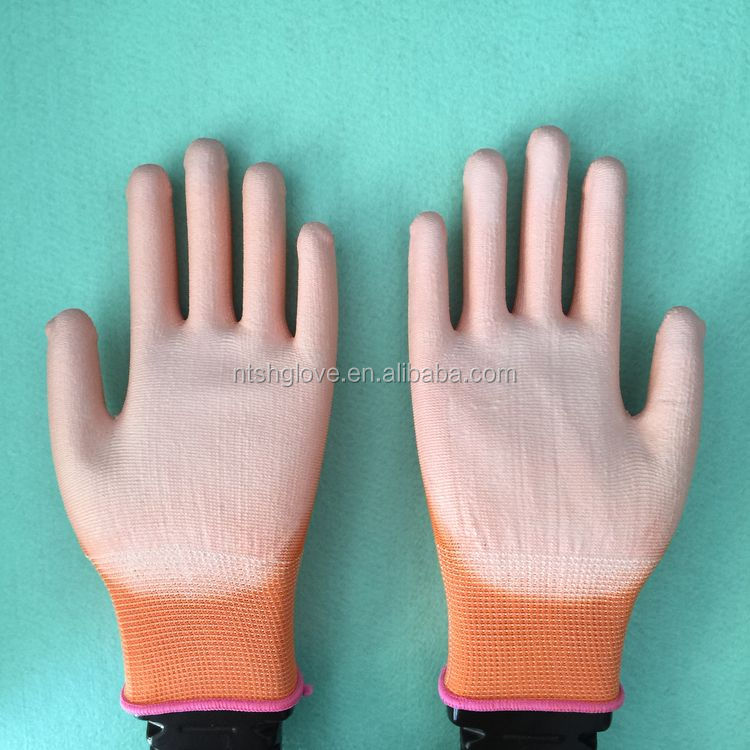 Super quality Competitive Price palm pu coated nylon glove