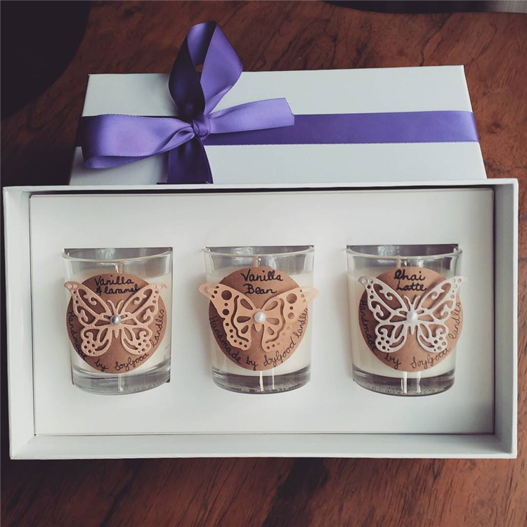 custom Luxury handmade printing candle gift box
