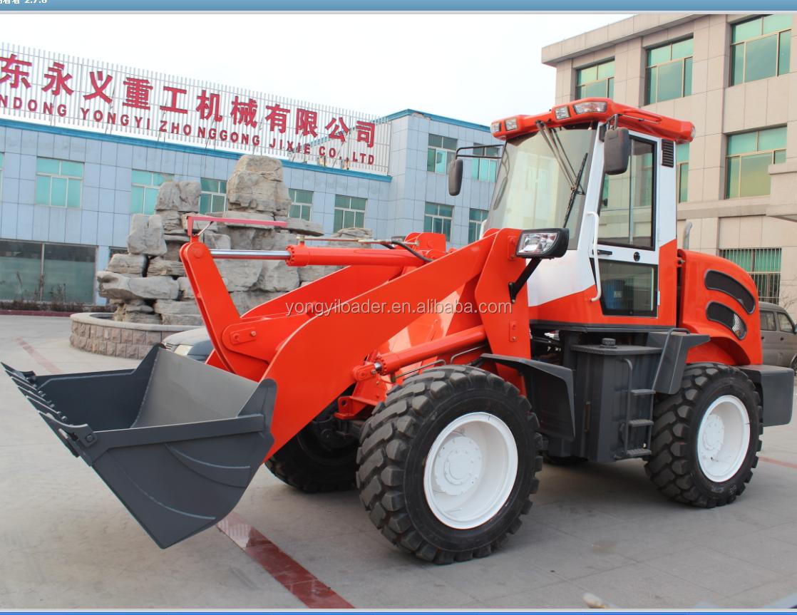 CE ha approvato ZL918 mini pala ruota piccola ruota mini loader in vendita