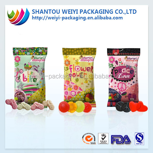 Sweet Candy Bar Packaging/cotton Candy Packaging With Full ...