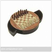 pys013 New arrival , bamboo chess kit