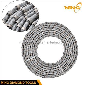 6.3mm 7.3mm Wire Saw Beads Diamond Abrasive Wire Saw Manufacturer ...