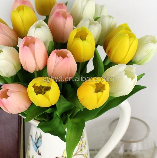 China manufacture good plastic tulip artificial flower