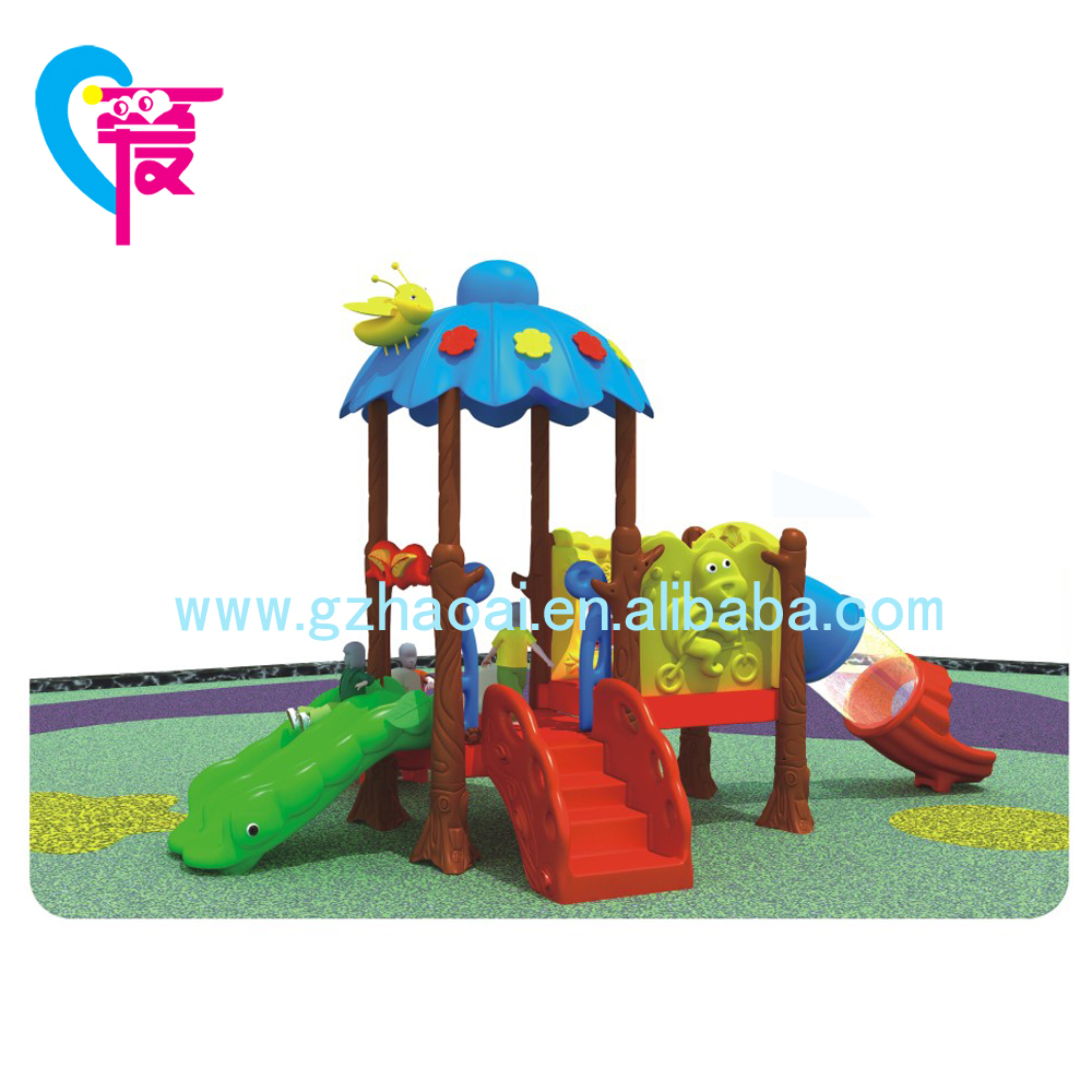 GZ-001 Children Cheap Outdoor  Playground Equipment With Slide For Sale