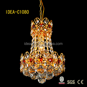 C1080-220 art crystal chandelier, led crystal chandelier made in china, led lamp luster