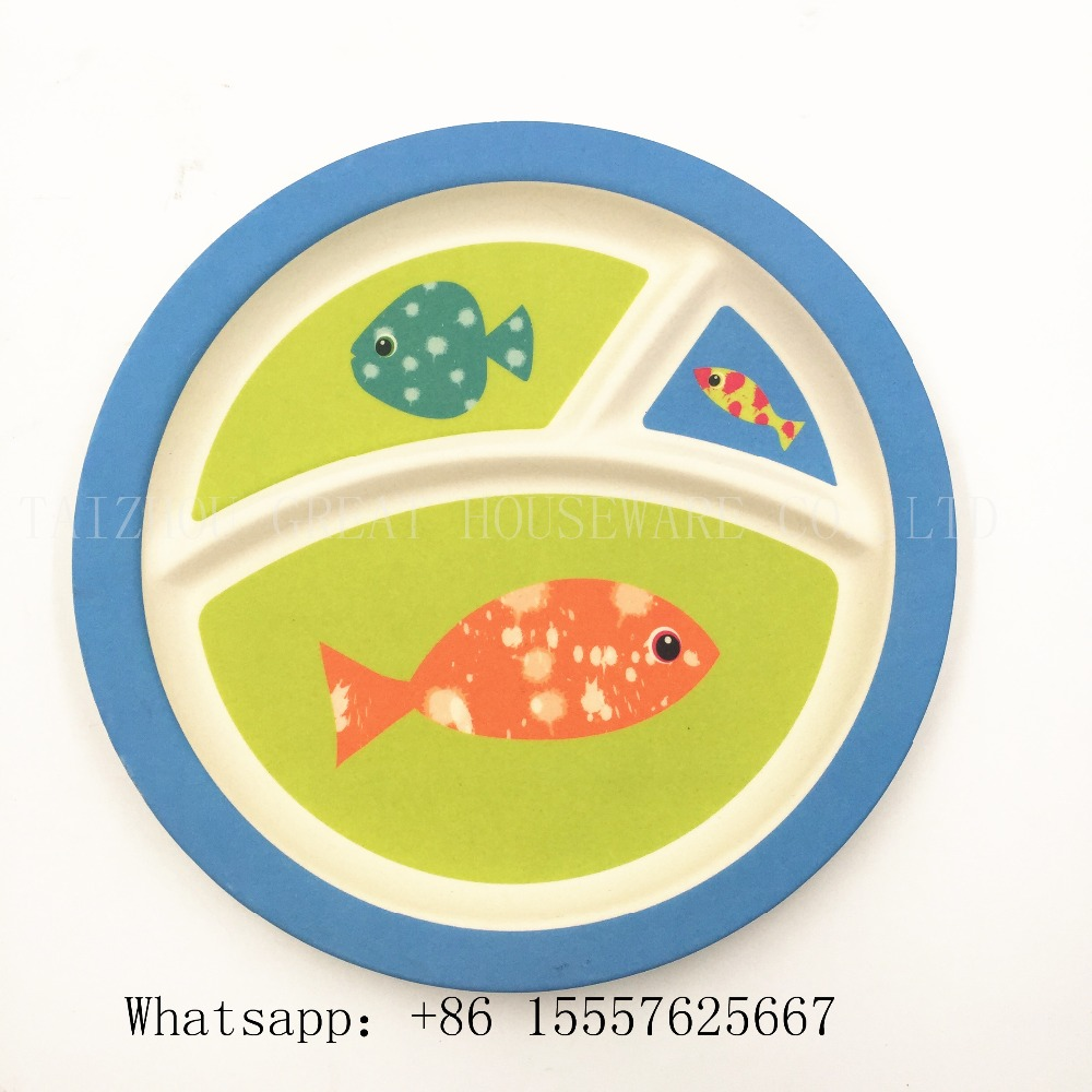 Melamine plates kids sets china ware