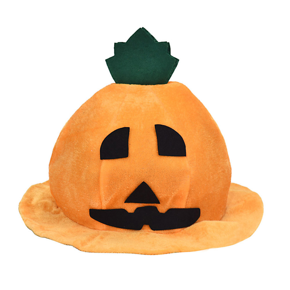 Carnival Halloween Holiday & Cute Pumpkin Halloween Hat Halloween Party Pumpkin Hat 2015 New Arrival Smile