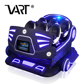 Realidad Virtual Simulador 9d vr 6 dof motion system 6 Seat VR Family with Signal Light