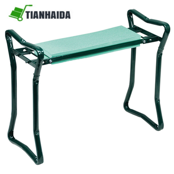 Superieur Foldable Garden Kneeler And Seat With Tool Pouch Portable Garden Stool With  EVA Kneeling Pad