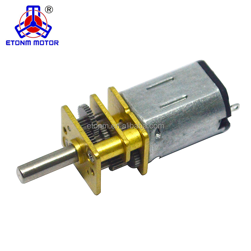 1.5-12V N20 Small Metal DC Geared Motor With D-shaft Rubber Tires, gearbox motor,dc gear motor