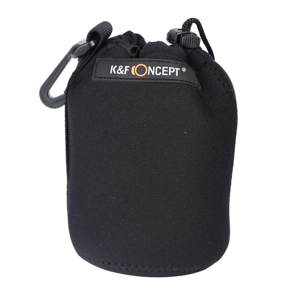 DSLR Camera Drawstring Lens Pouch Bag