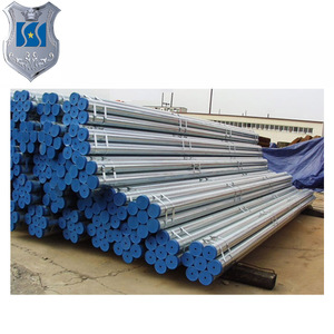 Alibaba hot dip galvanized carbon steel pipe 4 inch 2 Zinc Coating G.I With Socket