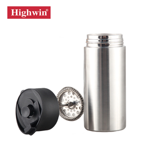 Highwin Hot Sale 14OZ French Press Coffee Maker with Reusable Stainless Filter