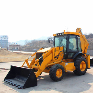 backhoe type shovel loader with 1m3 front bucket