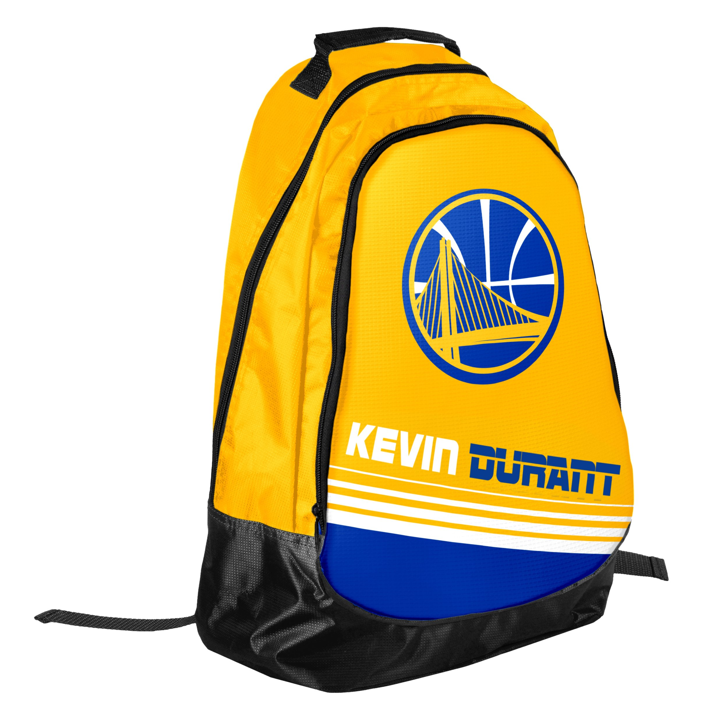 NBA Golden State Warriors Kevin Durant Stripe Core Backpack, Yellow, One  Size 39de9c86ef