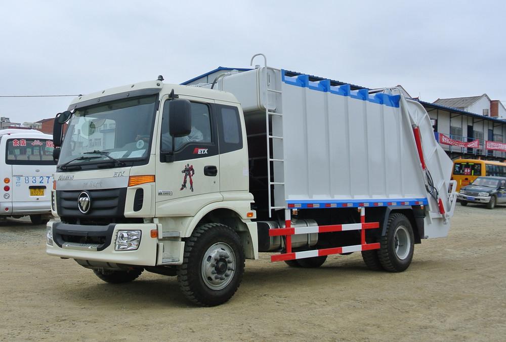 Garbage Truck Power Wheels : Foton compression garbage truck wheel mini