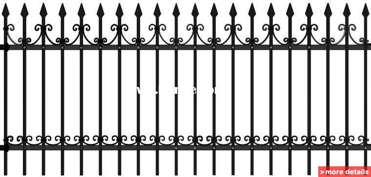 Ornamental Fence,Cheap Farm Fence,Decorative Iron Fence
