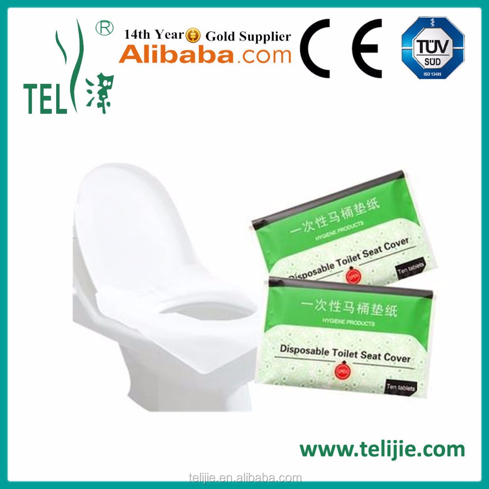 new useful individual packing toilet paper pocket size antibacterial travel pack toilet seat cover paper