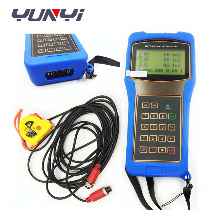 Handheld Water Flow Meter Portable Ultrasonic Flow Meter