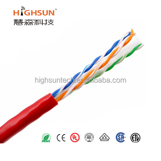 factory price and high quality multi core communication cat5 cable utp lan cable