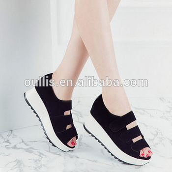 Latest Simple Design Girls Shoes Pm3816