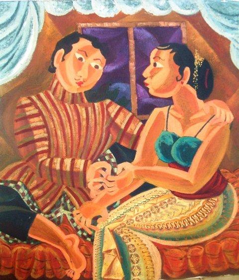 Indonesia Art Paintings