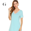 Comfortable Night Gowns Hot Nightwear for Women Design Casual Women's Home Wear Dress