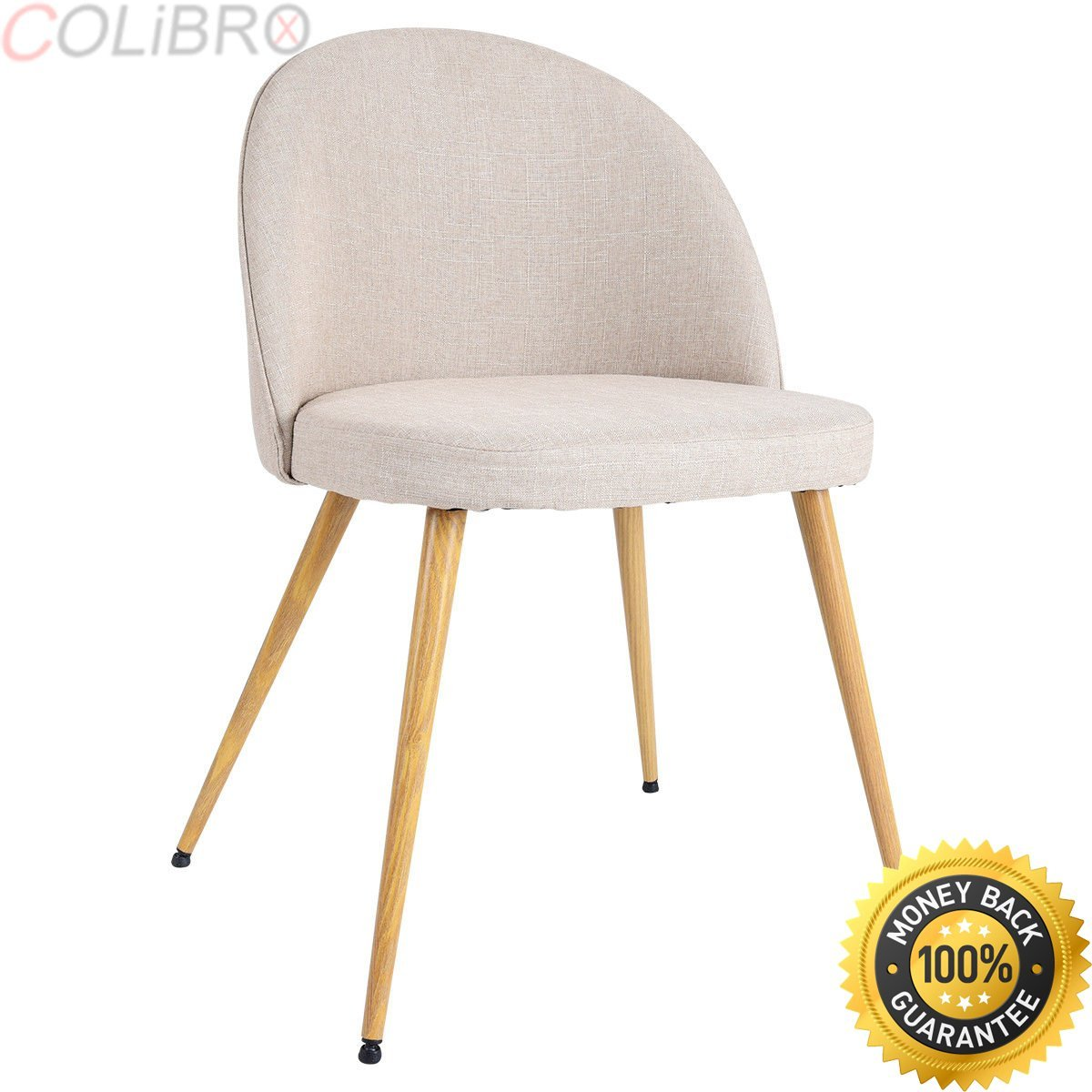 Buy Colibrox Set Of 4 Fabric Cushion Seat Accent Arm Chair
