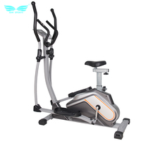 Fitness club mini magnetic elliptical cross trainer for home use