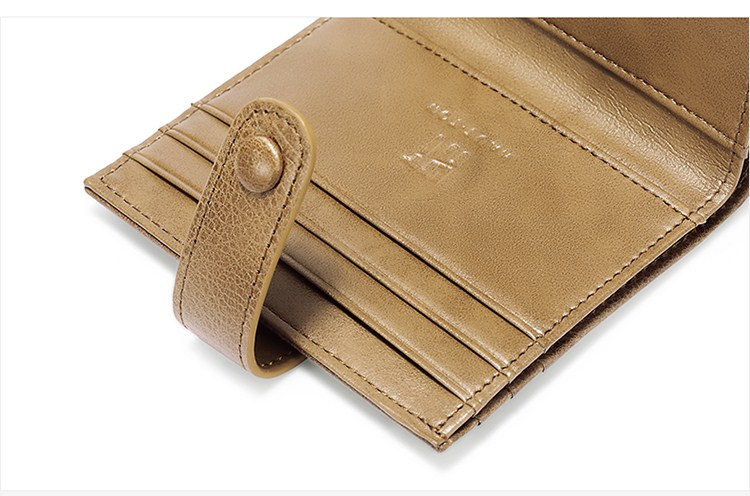 Hautton new arrival man genuine leather wallet card holder wallet