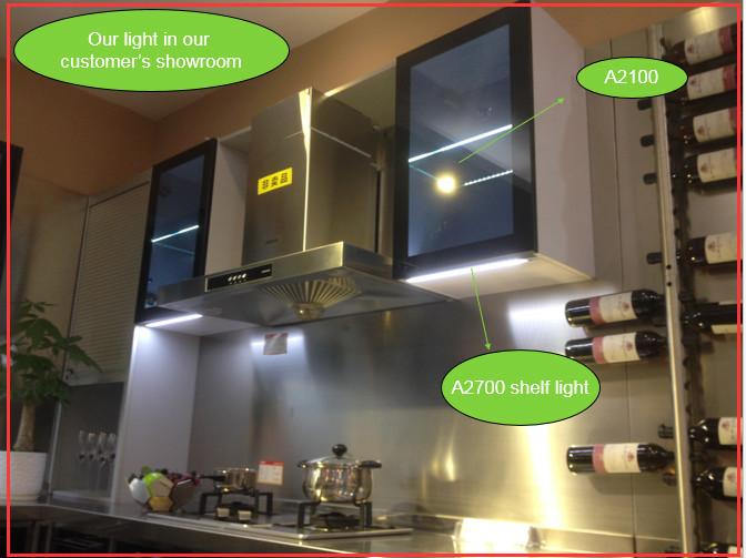 Led Lights Under Cabinet Shelf Light Dimmable Led Furniture Bar ...