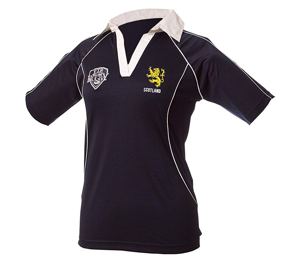Full Time Rugby Apparel Scotland Ladies Rugby Shirt