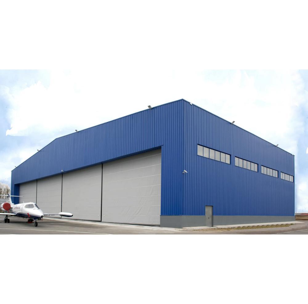 ขนาดใหญ่ span โครงสร้างเหล็กโรงงานฟรีภาพวาดการออกแบบ