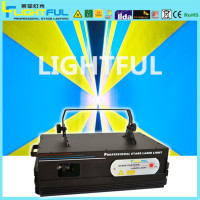 Professional single green laser light laser stage lighting party 2W RGB laser light
