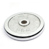 Commercial gym equipment adjustable chrome dumbbell plates