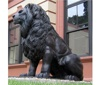 Customized size and color outdoor art hand crafts lion sculptures bronze for sale