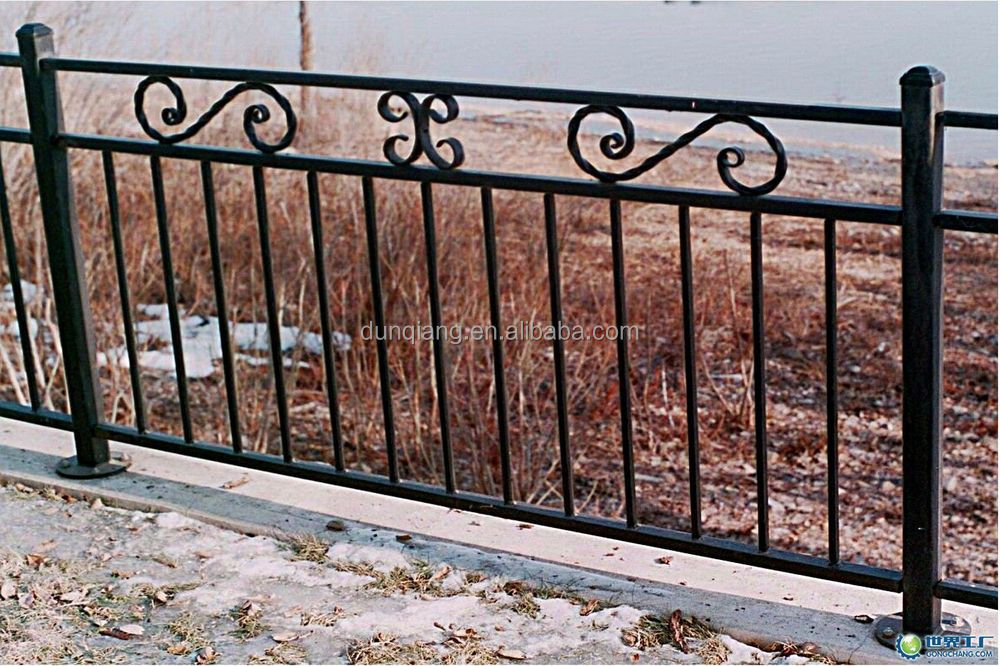 Security Fence Zinc Steel Fence Wrought Iron Garden Wall Fence ...