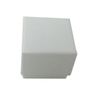 White luxury pu leather vintage velvet jewelry small ring storage box