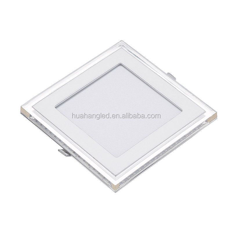 6w led panel light square slim 50/60HZ smd2835 aluminum material with sanan chip