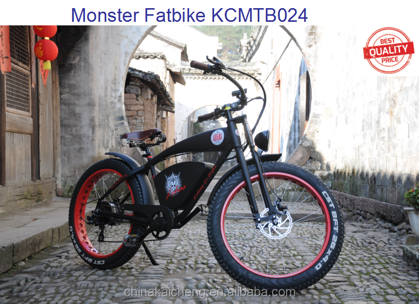 26'' electric fat tire mountain bicycle 2000w 1200w 1000w 750w KCMTB024