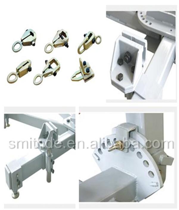 Pl 3 Hydraulic Post Puller : Smithde k frame machine auto body dent puller