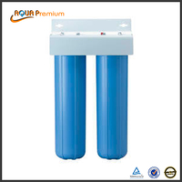 Home water treatment appliance 2 stages big blue purifier filter housing