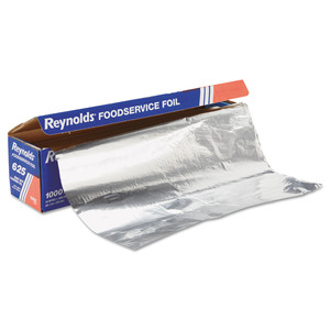 Heavy Duty Aluminum Foil Rolls, 100% Recycled, 100m/roll