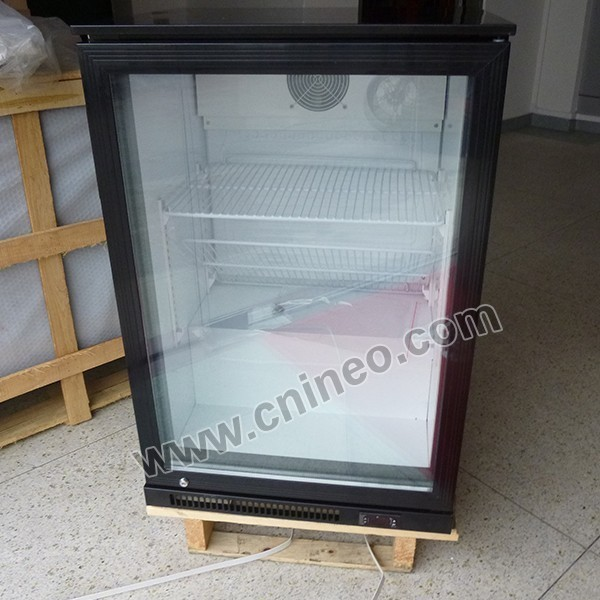 115L Table Top Back Bar Electric Cold Drink Cooler/Showcase Used Refrigerator Refrigerators/Upright Single Door Cooler