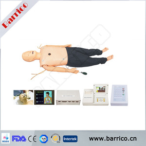 Emergency skills training first aid mannequin medical training four in one ALS mannequin